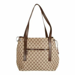 Gucci GG beige canvas large tote bag